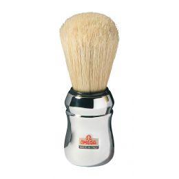 Omega Professional Shaving Brush - Chrome