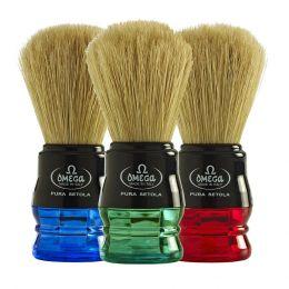 Omega Pure Bristle Shaving Brush