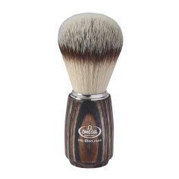 Omega Hi-Brush Synthetic Badger Brush - Multilayered Handle