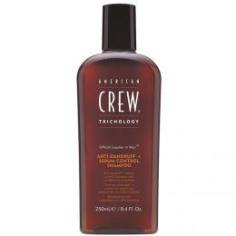 American Crew Anti-Dandruff & Sebum Control Shampoo - 250ml