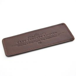 Captain Fawcett Leather Case For Beard Comb