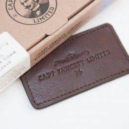 Captain Fawcett Leather Case For Moustache Comb