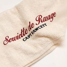 Captain Fawcett Luxurious Shave Towel