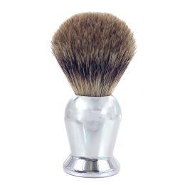 Frank Shaving Badger Hair Shaving Brush - Chrome Handle