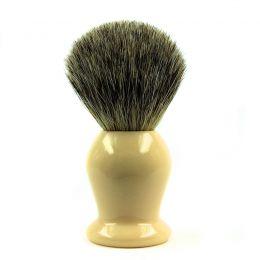 Frank Shaving Badger Hair Shaving Brush - Cream Handle