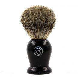 Frank Shaving Badger Shaving Brush - Black Handle