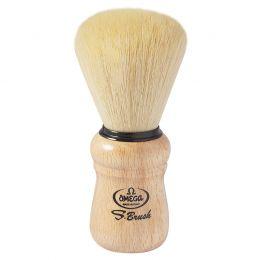 Omega S-Brush Wooden Handle