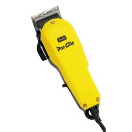 Wahl Pro Clip Clipper In Yellow