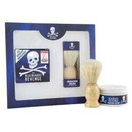 Bluebeards Revenge Shaving Cream & Doubloon Brush Kit