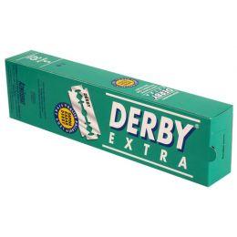 100 x Derby Extra Double Edge Razor Blades (Green)