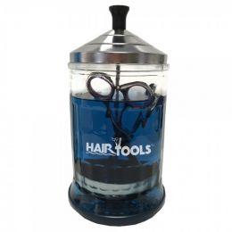 Hair Tools Glass Sterilising Jar - Small