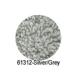 12 Luxury Barber Towels - Silver Grey