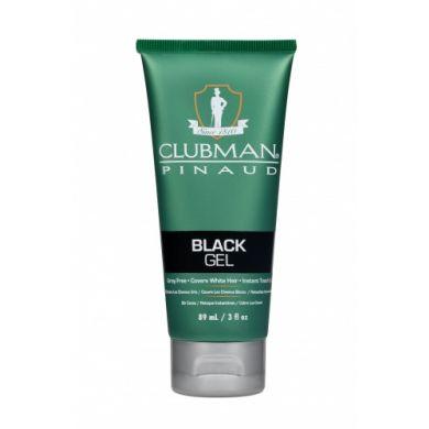 Clubman Pinaud Temporary Colour Gel Black - 89ml