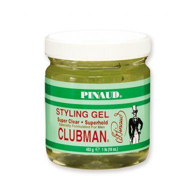 Clubman Pinaud Super Hold Gel Jar - 453g