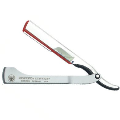 Dovo Shavette Razor with Stainless Steel Handle