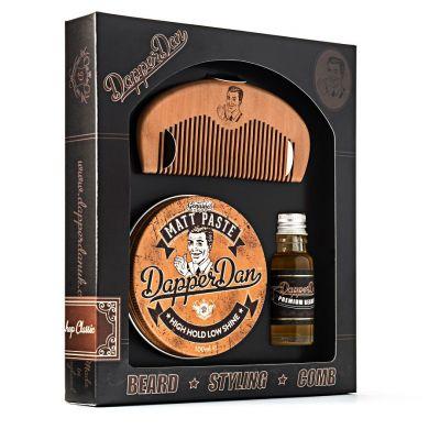 Dapper Dan 'Hairy Man' Combo Gift Set