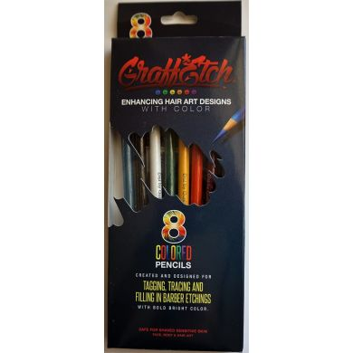 Graff Etch Hair Pattern Pencils - Original