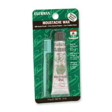 Clubman Pinaud Moustache Wax - Neutral