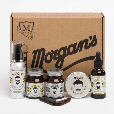 Morgan's Moustache & Beard Grooming Gift Set
