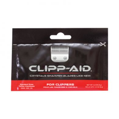 Clipp-Aid Sharpening Crystals For Standard Clipper Blades (Individual Sachet)